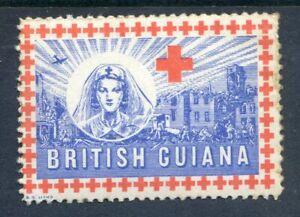 British Guiana 1944 Red Cross Labels (2021/02/28#04)