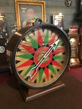 "1936 Trade Stimulator M-R Advertising System Electric Carny Wheel  ""WATCH VIDEO"""