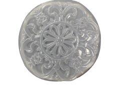 Roman Floral Plaque Stepping Stone Plaster Concrete Mold 7082 Moldcreations