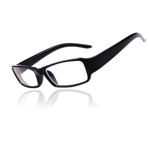 Near Sighted Glasses Black Plastic Short-sighted Lens -1.00 -1.50 to -6.00