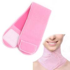 Pink SPA Moisturising Gel Neck Wrap Neck Mask Collar Skin Care Whitening Scarf