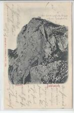 AK Dobratsch, Absturz, 1902