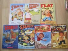 FLAT STANLEY LOT 7~Worldwide Adventures~CHRISTMAS~INVISIBLE~SPACE~AGAIN~RUSHMORE