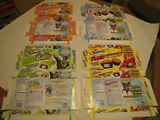 Hostess (Interstate Brands) Boxes (Superman, Batman, Green Lantern, and Flash)