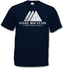 STEEL MOUNTAIN T-SHIRT fsociety Allsafe Hacker TV Evil E Corp Mr. Robot