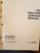 1980 Ford Versatile 555 tractor service manual book