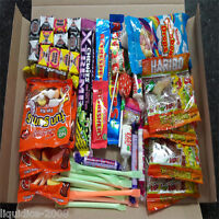 RETRO MIX SWEETS GIFT BOX SWEET HAMPER CANDY TREATS CHRISTMAS PRESENT