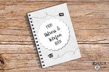 Mein Adressbuch & Telefonbuch Chevron Kalender DIN A6 MINI Organizer