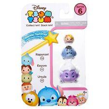 Disney Tsum Tsum 3-Pack Series 6 Tsparkle Tsurprise Rapunzel Eeyore Ursula
