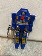 Vintage Tonka 1982 Gobots Blue Tank Action Figure Popy Mr-02 Transformer Toy Htf