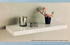 High Gloss Floating Shelves White