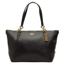 New Coach 57526 AVA Tote Crossgrain Leather handbag Black