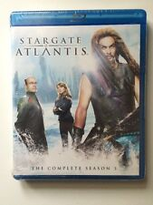 Stargate: Atlantis - Season 5 (Blu-ray Disc, 2012, 4-Disc Set) NEW SEALED