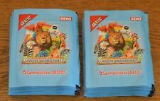 Rewe Unsere Wunderwelt Sammelsticker 50 Tüten / 250 Sticker