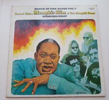 Memphis Slim, Canned Heat, Memphis cuernos Blues de Memphis Heat Vinilo Lp -/en muy buena condición + +