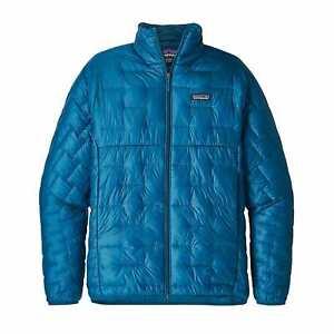 Patagonia Men's MICRO PUFF® Jacket - BALB - Balkan Blue - Large