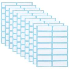 168 pcs Self Adhesive Name Number Stickers Price Tags Sticker Blank Note Labels
