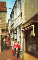 Vintage East Sussex Postcard, The Lanes, Brighton HT6