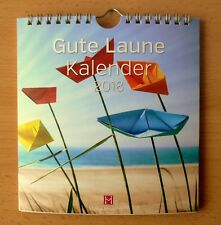 Lebensfreude bunte Motive 16 x 17 cm Kalender 2018 Wandkalender Postkarten ca