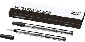 Montblanc 2 Rollerball LeGrand Mystery Black Refills 105164