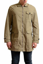 Dsquared2 Men's Khaki Full Zip Windbreaker Coat US S IT 48