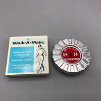 Vintage Walk-A-Matic Toy Pedometer