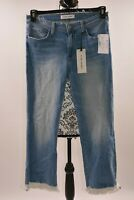 FLYING MONKEY Platinum Juniors Faded Raw Hem Blue Jeans Size 29