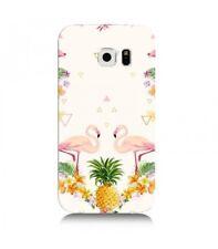 Coque Galaxy S7 Edge Flamant Ananas Tropical exotique fleur geometrique