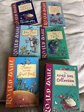 2001 6 X Roald Dahl Paperbacks One Damaged & Damaged Slipcase