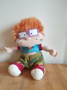 "Rugrats Chucky Finster Plush 2001 Viacom 11"" Soft Toy Nickelodeon Cartoon"