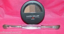 Laura Geller Baked ImPressions Eyeshadow Palette - Espresso Yourself W/Brush!