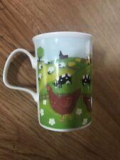 Roy Kirkham Home Farm Bone China Mug Cup Cow Chickens