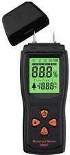 "Meterk Handheld Mini Wood Moisture Meter Digital Detector LCD Lumber Damp ""NEW"""