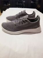 Allbirds Tree Runners Women's Shoes Classic: Mist (White Sole), Gray Color, Size