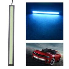 1PCS 17CM COB Ice Blue LED DRL Daytime Running Light Driving Interior Strip 12V