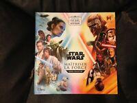 Album vide Star Wars e-Leclerc 2019 Maîtriser La Force Livre sticker non Panini