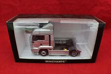 1-43 Minichamps Man TG-A 2000 Articulated Tractor Silver Ltd #1/1344 #439070190