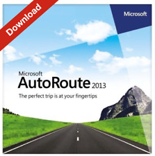 Microsoft Autoroute 2013 Europe - 4 PC's