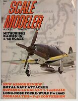 Scale Modeler  Oct 1971 Mitsubishi Raiden Royal Navy Attacker Diorama Tips