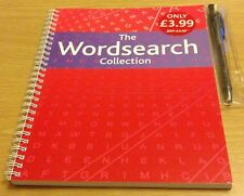 THE WORDSEARCH COLLECTION With Pen Book (Paperback) NEW