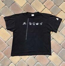 Vtg Mortal Kombat 3 T Shirt Mens Large Black
