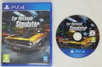 Car Mechanic Simulator (PS4) EXCELLENT CONDITION UK PAL Free UK POST