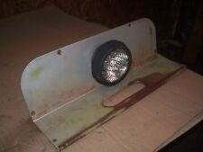 White 2 702 852 105 Farm Tractor Fender Insert With Light Very Nice