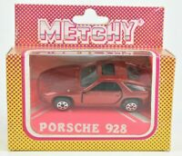 Matchbox Metchy Porsche 928 Red with Sunroof Hungary RARE 1:64 MIB