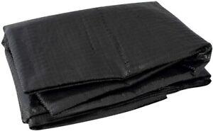 Eurotrail ECO Breathable Waterproof Tarpaulin Groundsheet Carpet All Sizes Black