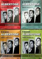 4 Dvd IL GRANDE ALBERTONE PRESENTA ALBERTO SORDI IN TV collezione serie completa
