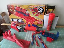 Spider-man 2 Triple Web Action Blaster in box