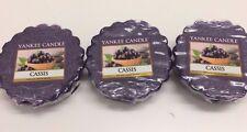 Yankee Candle Wax Tart Melt Cassis 1332229E