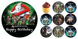 Ghostbusters Eßbar Tortenaufleger Party Deko Tortenbild Muffin Geburtstag Neu