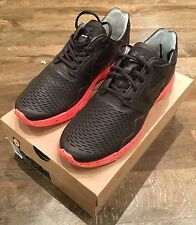 Nike Lunar Flow PRM NRG Black Tea Crimson UK10 HTM Flyknit 558670-200
